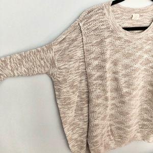 Anthro Sun & Shadow Knit Dolman Sleeve Sweater